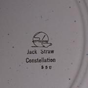 "Jack Straw Constellation 9 3/4"" plates"
