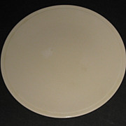 Kitchen Kraft Cake Plate in ultra rare Ivory finish