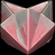 Muncie Pottery Ruba Rombic Star Vase