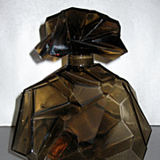 Consolidated Ruba Rombic Smoky Topaz Decanter