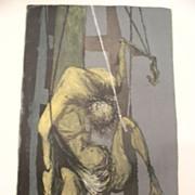 "Benton Murdoch Spruance (1904-1967) listed artist limited edition ""Black Friday""   L"