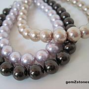 Fun And Feminine Set Of Three Stackable Bracelets