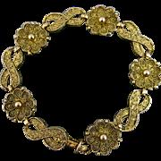 REDUCED Superb Theodor Fahrner Jugendstil Bracelet ~ c1950s