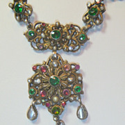 SOLD Antique Austro Hungarian Necklace