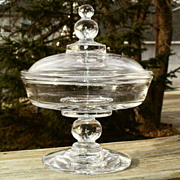 SOLD Candlewick Covered Jelly/Cheese Compote 400/137 Scarce
