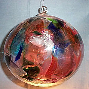 "Art Glass 8"" Witch Ball"