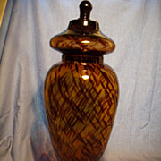 Tortoise Glass Apothecary Jar