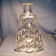 Skruf Signed Lars Hellsten Bottle  Vase