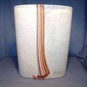 Signed B Valien Boda Vase
