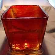 50's Per Lutken Lava Vase