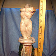 SOLD Murano Marble Glass Sculpture