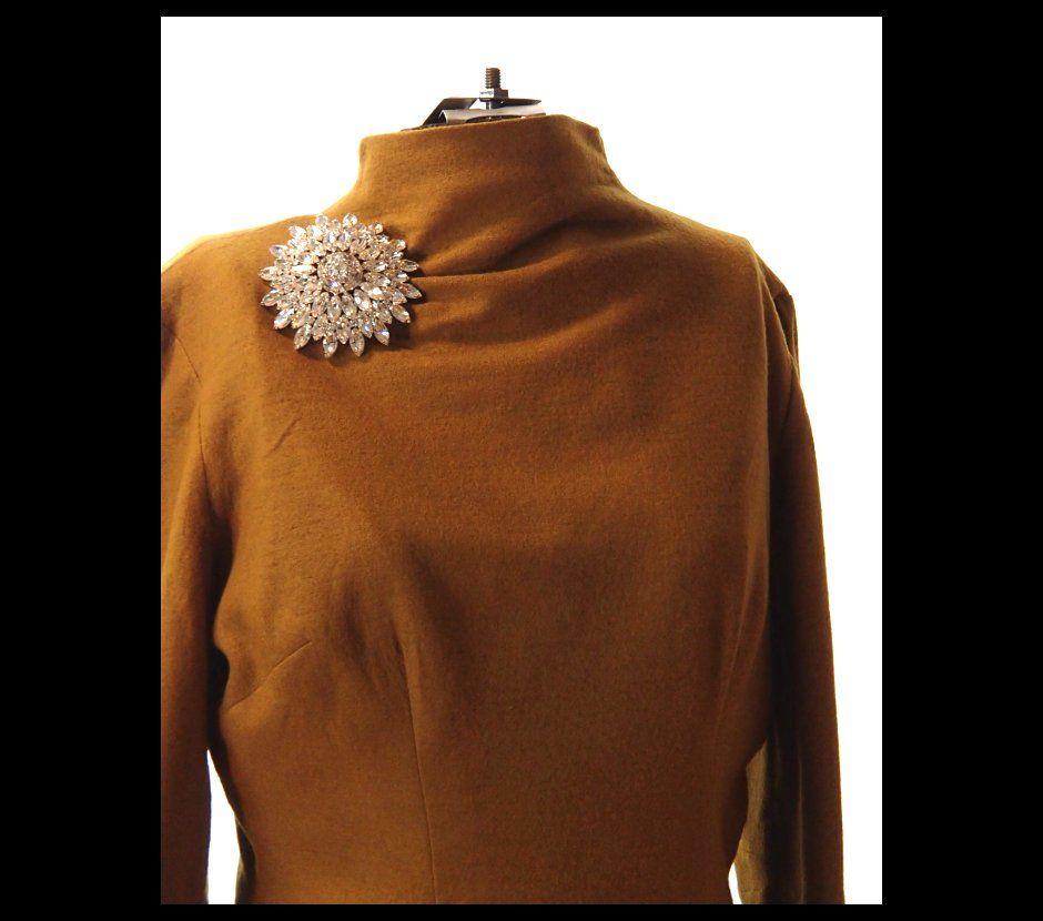 Rare Eisenberg Wool Dress