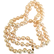 REDUCED Must-have Classic Faux Pearl Necklace by Marvella
