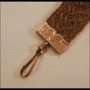 Woven Hair Watch Chain