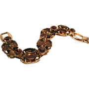 Five-link Rhinestone Bracelet