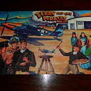 SALE PENDING 1946 Terry and the Pirates Jaymar Jigsaw puzzle w Box!