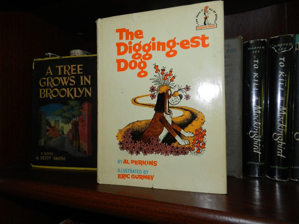 The Digging-est Dog 1967 1st printing 1967 w Dust Jacket