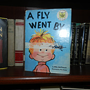A Fly Went By 1st Printing 1958 w Dust Jacket Rare!