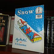 Snow Dr Seuss Beginner Book 1962 1st printing w Dust Jacket