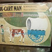 1979 Ox - Cart Man Caldecott Medal for 1980 1st printing in DJ