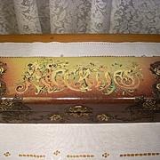 Lovely Old Celluloid Dresser Box for Neckties