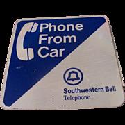Southwestern Bell Telephone Sign