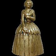 Vintage Brass Belgium Belle BELL
