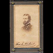Antique Civil War Carte-de-Visite CDV Photo General Ulysses S. Grant