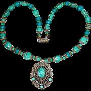 Original Old Art Deco 1920s Czech Necklace