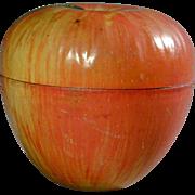 SALE PENDING Vintage WYANDOTTE TOYS Apple Candy Tin Box String Holder