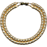 Faux Pearls & Rhinestones Never Looked This Good Vintage Necklace