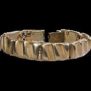 Mid-Century Taxco LOS CASTILLO Sterling Silver Bracelet