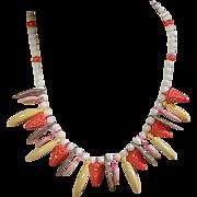 Vintage Plastic Fruit Necklace - A Life Changer