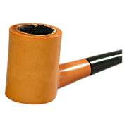 Vintage 1930s Bakelite Smoking Pipe - Tobacco