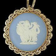 Wedgwood Jasperware Pendant Pin Dancers G.F. & 925