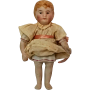 Miniature Dollhouse doll Kestner 772 3/0 Boy in molded nightshirt