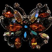 Regency butterfly pin Japanned finish