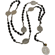 Antique seven sorrows servite chaplet rosary