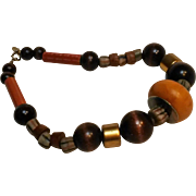 Cadoro African inspired bead necklace