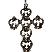 Danecraft sterling cross pendant