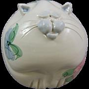 Fat Kitty Cat Pottery Bank