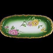 Limoges Porcelain Dish  T & V Tressemann & Vogt France