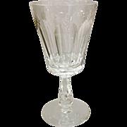 REDUCED Waterford Irish Crystal Glencree Water Goblet 6-7/8 Circa 1960
