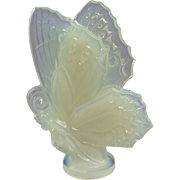 "Sabino Paris France Large Size 6"" Opalescent Glass Butterfly"