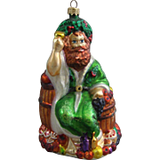 SOLD Christopher Radko Ghost of Christmas Present Hand Blown Ornament