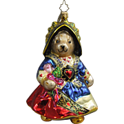Christopher Radko Christmas Ornament Retired Muffy Queen of Hearts