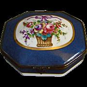 REDUCED Paris Porcelain Trinket Casket