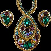 Juliana D&E for Hobe Necklace & Earrings Demi-Parure