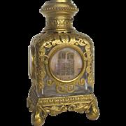 4 1/2 inch Palais Royale Perfume Bottle with 5 Miniatures of Paris  Napoleon III ...