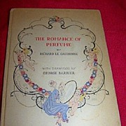 """RARE Art Deco, """"The Romance of Perfume"""", First Edition 1928 Barbier Drawings"""